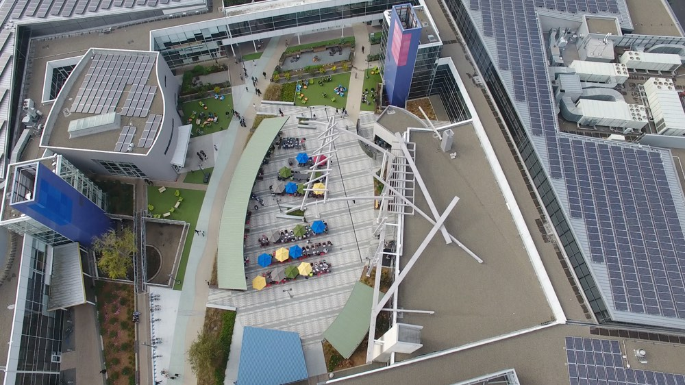 Googleplex Flight View Animation
